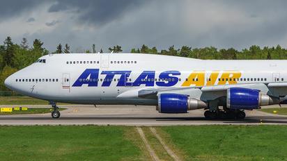 N464MC - Atlas Air Boeing 747-400F, ERF