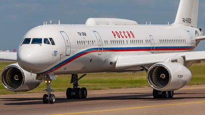 RA-64528 - Rossiya Special Flight Detachment Tupolev Tu-214 (all models)