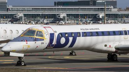 SP-LGH - LOT - Polish Airlines Embraer EMB-145