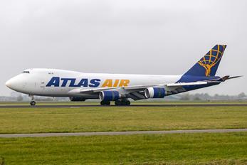 N477MC - Atlas Air Boeing 747-400F, ERF