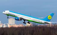 UK75703 - Uzbekistan Airways Boeing 757-200 aircraft
