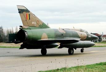 BR-08 - Belgium - Air Force Dassault Mirage V BR