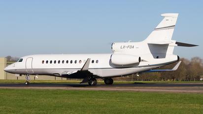 LX-FDA - Private Dassault Falcon 7X