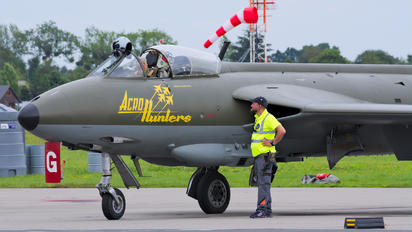 SE-DXM - Swedish Air Force Historic Flight Hawker Hunter F.58