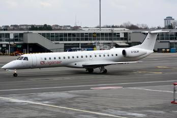 G-SAJH - Loganair Embraer EMB-145