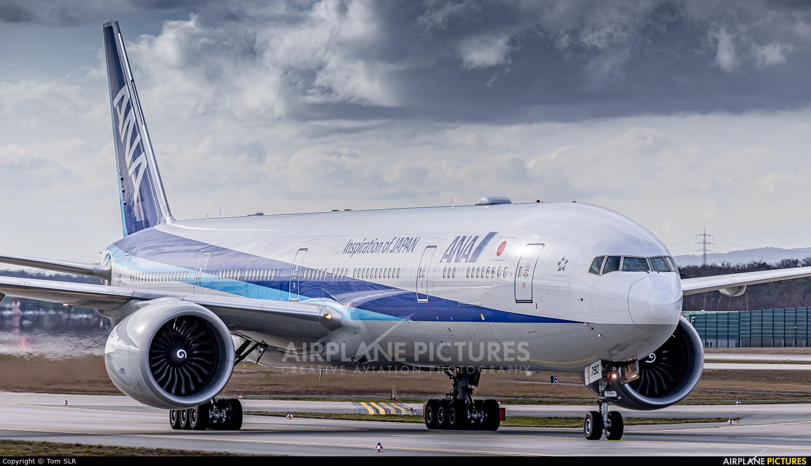ANA - All Nippon Airways JA790A aircraft at Frankfurt