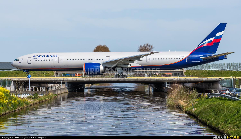 Aeroflot VQ-BQE aircraft at Amsterdam - Schiphol