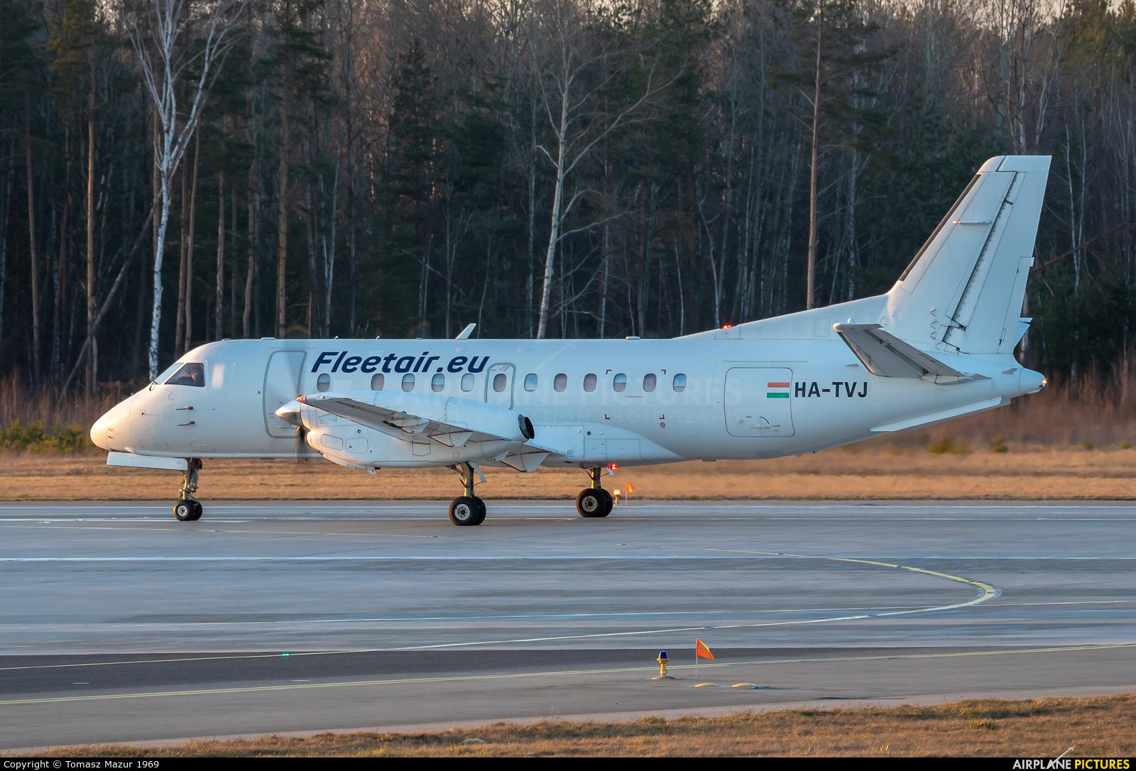 Fleet Air International HA-TVJ aircraft at Katowice - Pyrzowice