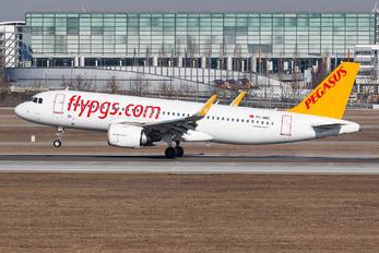 TC-NBE - Pegasus Airbus A320 NEO