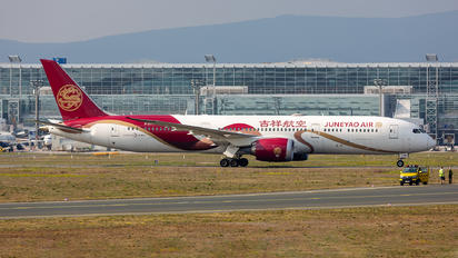 B-207N - Juneyao Airlines Boeing 787-9 Dreamliner