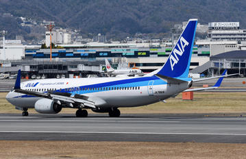 JA78AN - ANA - All Nippon Airways Boeing 737-800