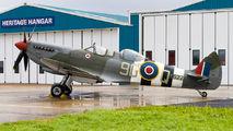 G-BMSB - Private Supermarine Spitfire T.9 aircraft