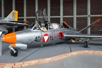 4D-YL - Austria - Air Force Fouga CM-170 Magister