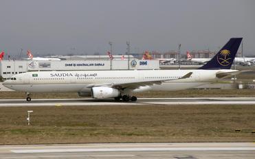 HZ-AQ19 - Saudi Arabian Airlines Airbus A330-300