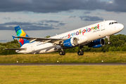 LY-SPI - Small Planet Airlines Airbus A320 aircraft