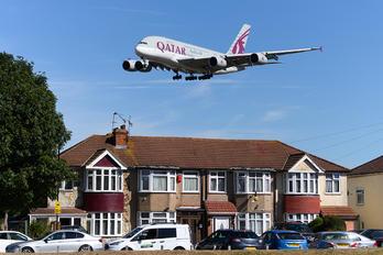 A7-APH - Qatar Airways Airbus A380