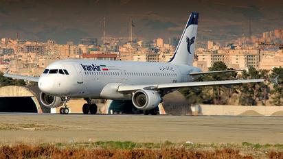 EP-IEF - Iran Air Airbus A320