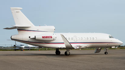 N580CB - Private Dassault Falcon 900 series