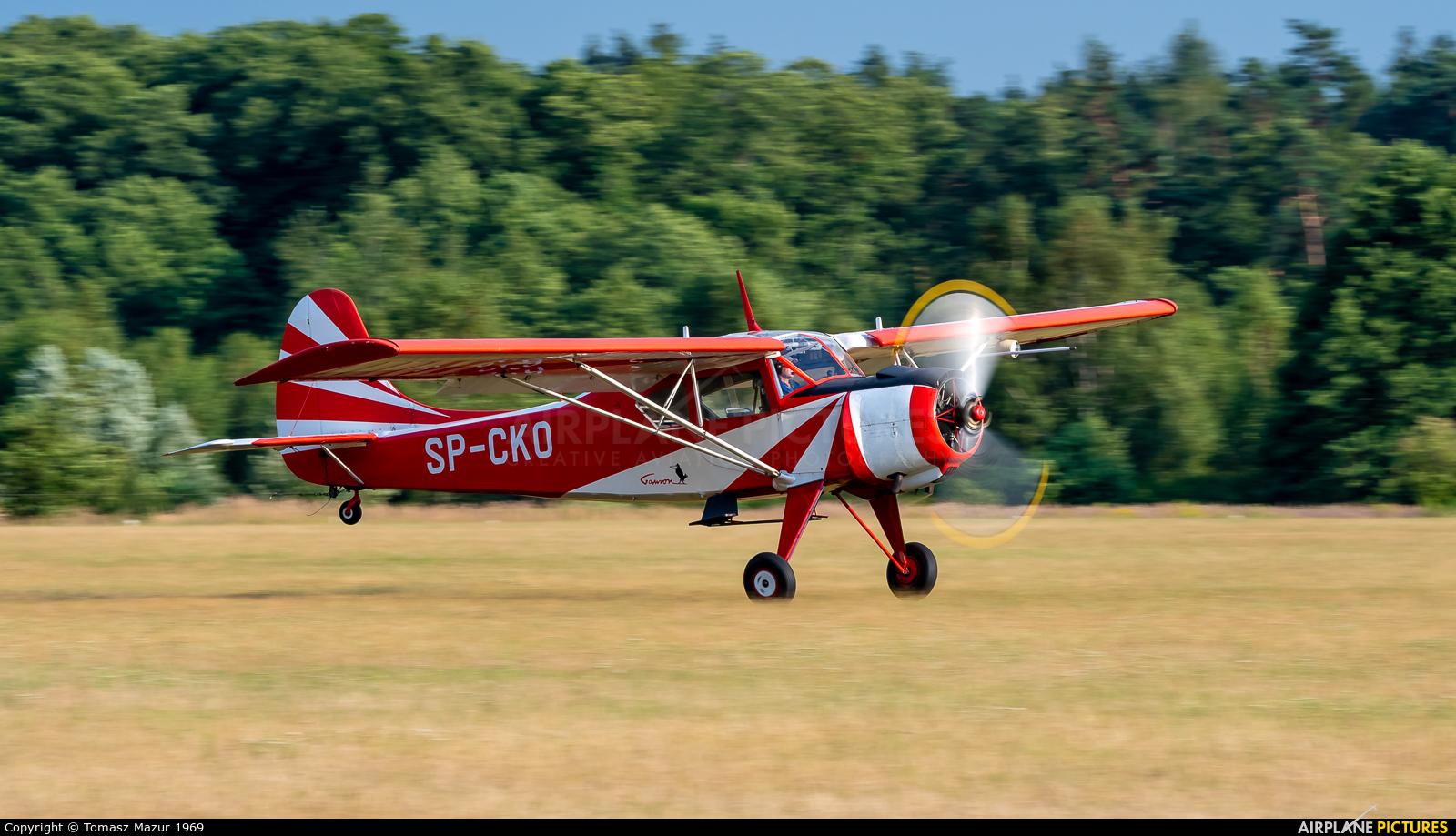 Private SP-CKO aircraft at Rybnik - Gotartowice