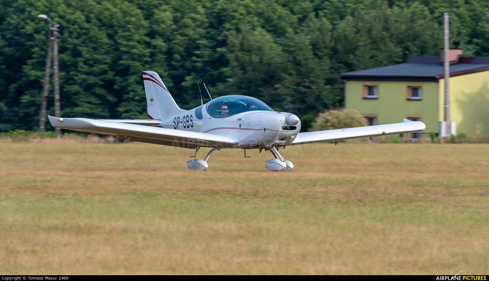 Private SP-GBS aircraft at