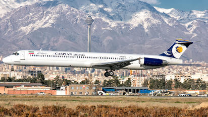 EP-CPX - Caspian Airlines McDonnell Douglas MD-83