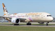 A6-BLK - Etihad Airways Boeing 787-9 Dreamliner aircraft
