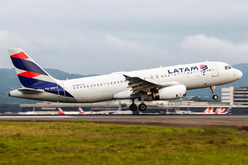 PR-MBO - LATAM Brasil - Airport Overview - Aircraft Detail