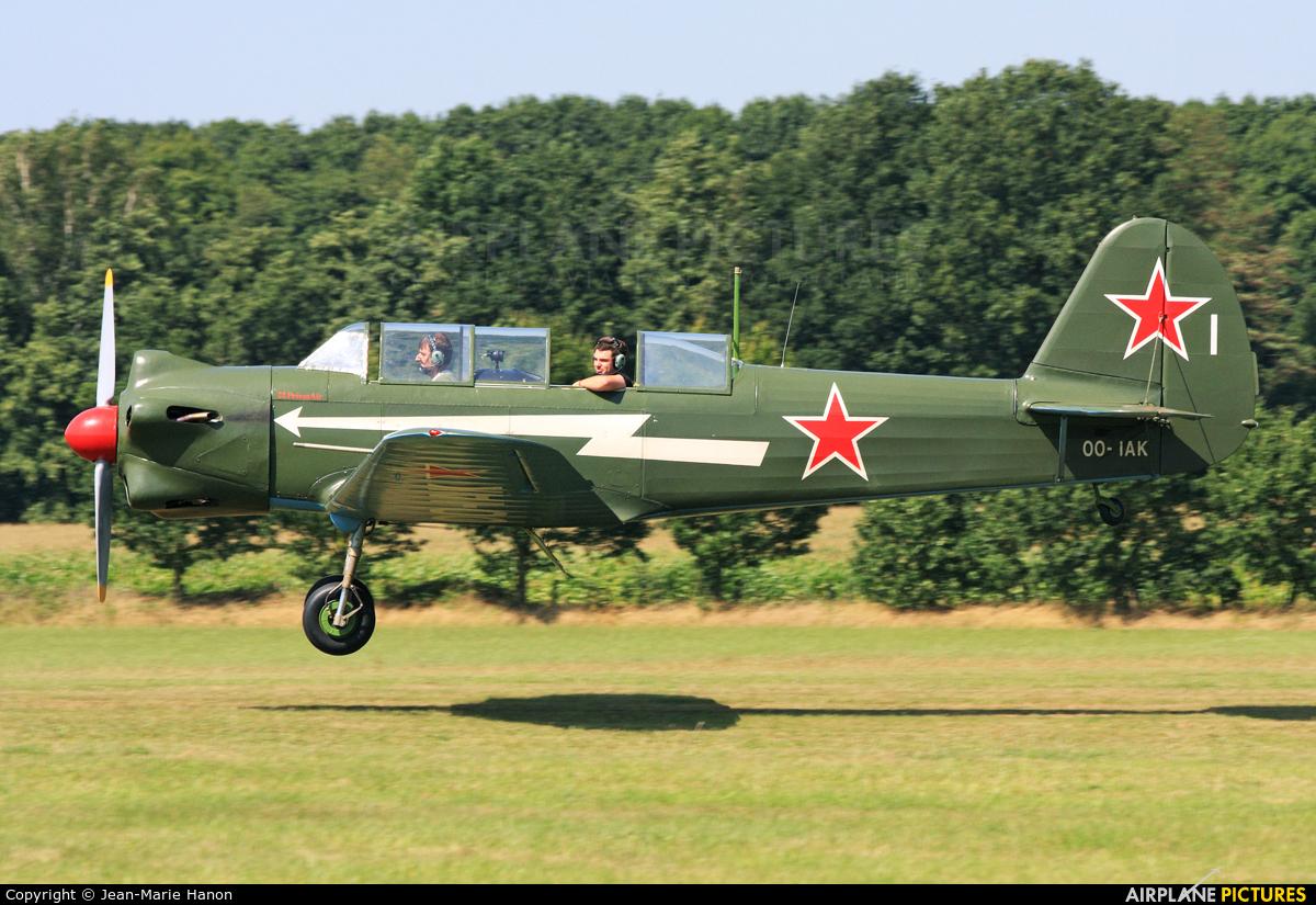 Private OO-IAK aircraft at Diest Schaffen
