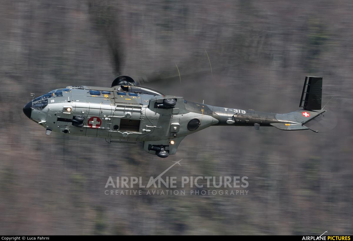 Switzerland - Air Force T-319 aircraft at Meiringen
