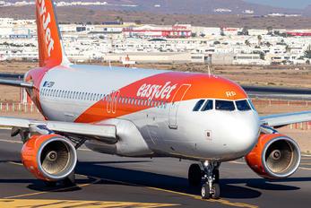 G-EZRP - easyJet Airbus A320