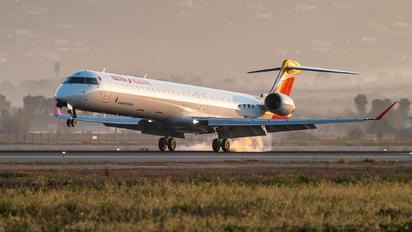 EC-MTZ - Air Nostrum - Iberia Regional Canadair CL-600 CRJ-1000