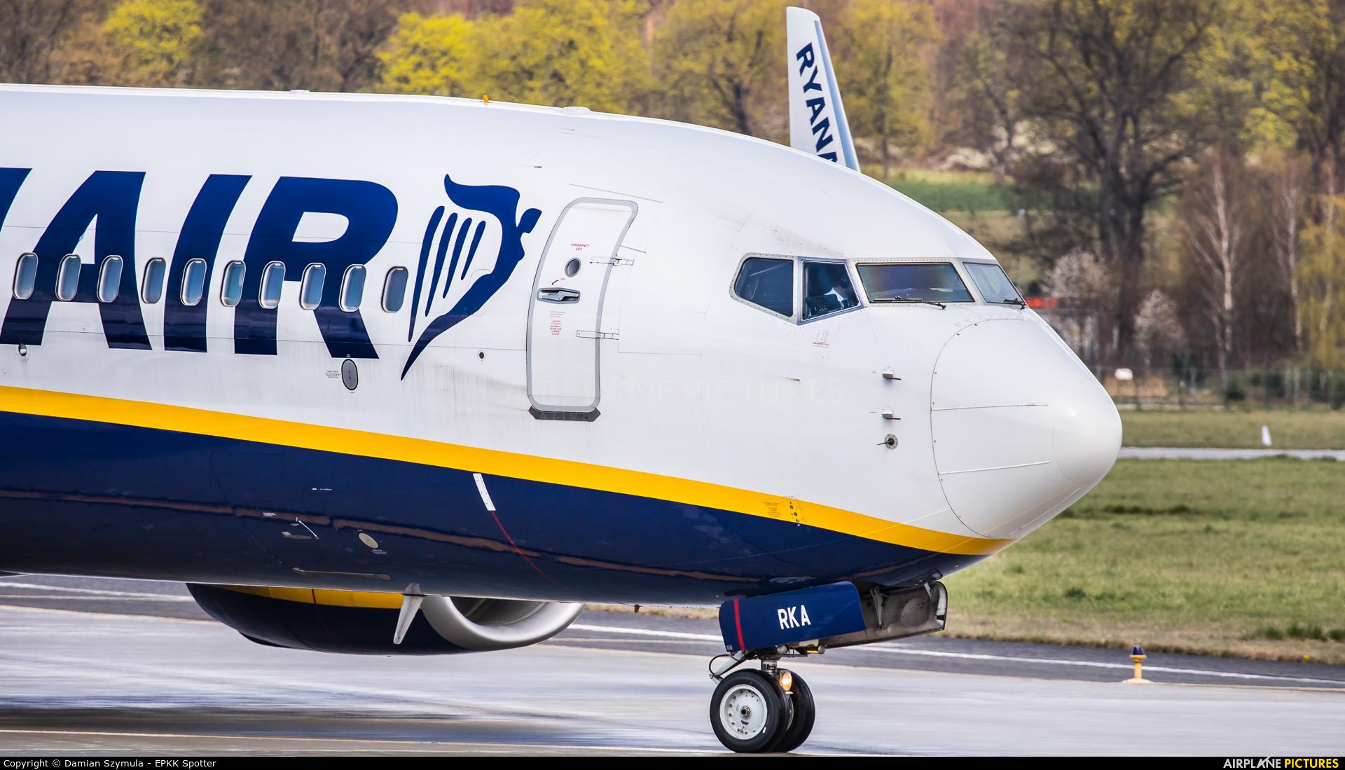 Ryanair Sun SP-RKA aircraft at Kraków - John Paul II Intl