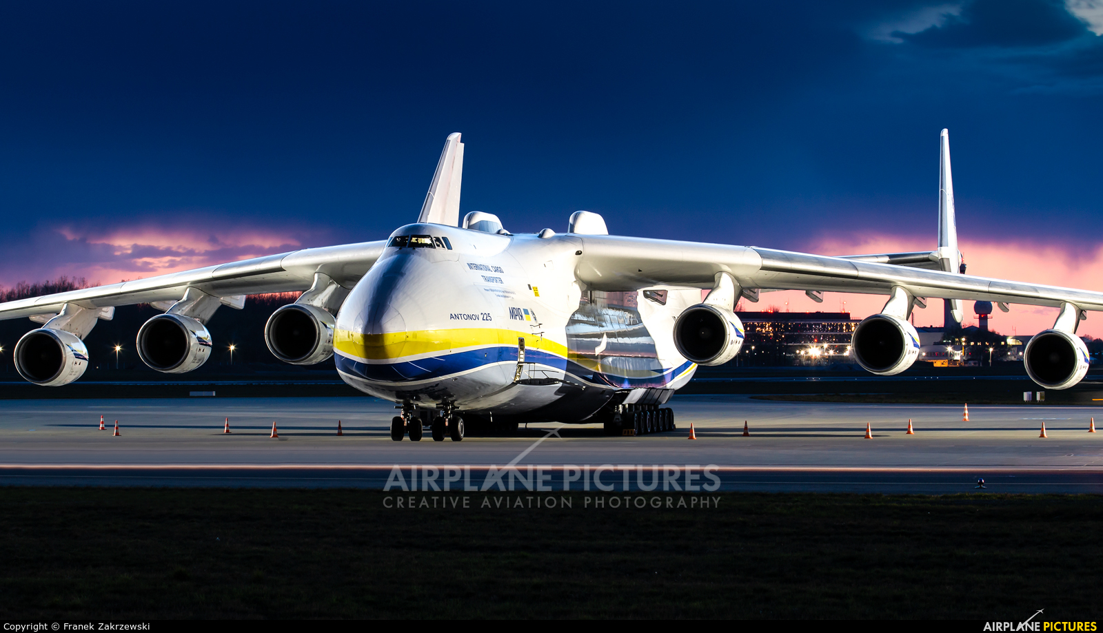 Antonov Airlines /  Design Bureau UR-82060 aircraft at Warsaw - Frederic Chopin