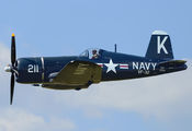 NX1337A - Private Vought F4U Corsair aircraft