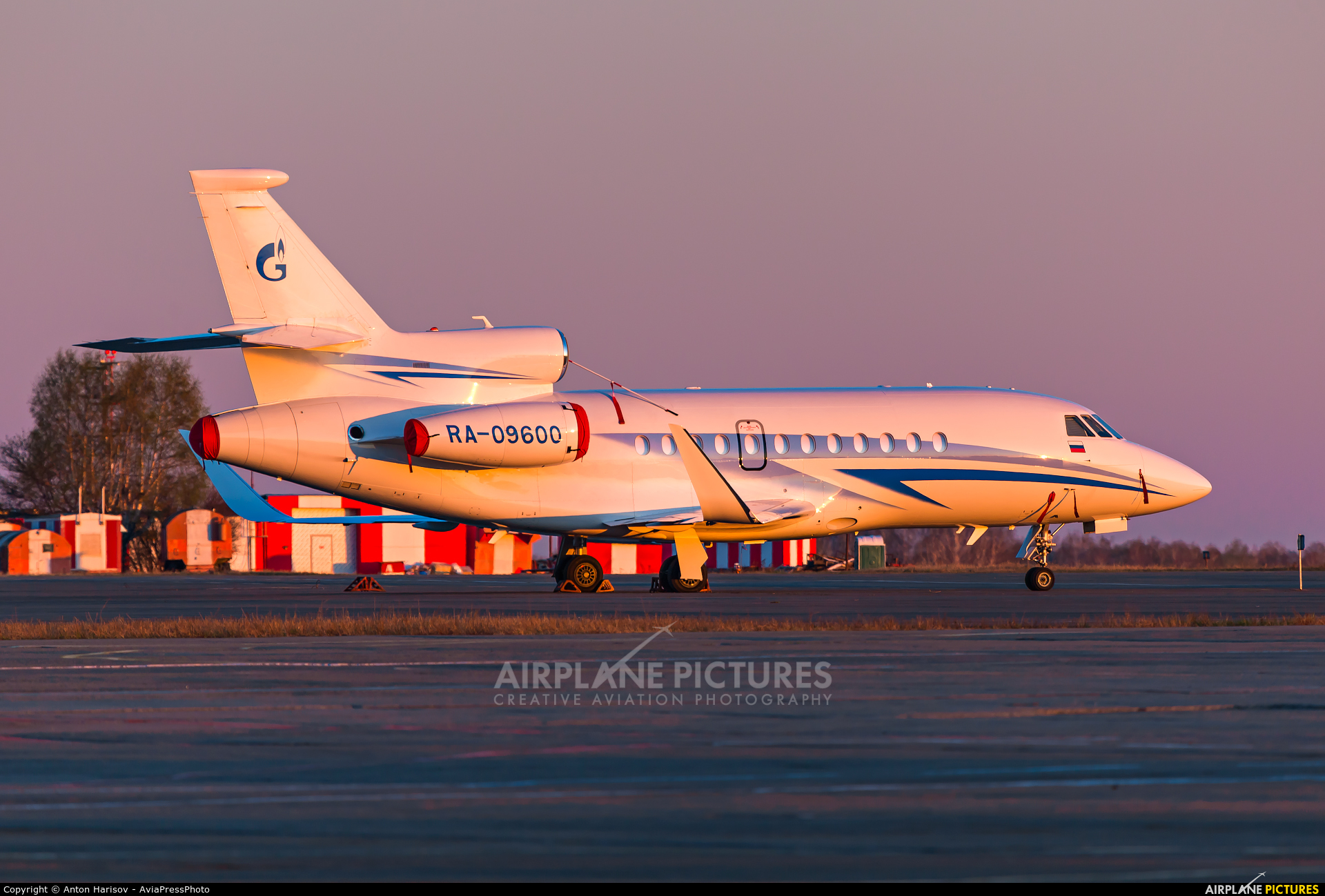 Gazpromavia RA-09600 aircraft at Chelyabinsk