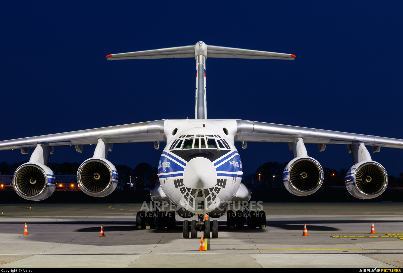 Volga Dnepr Airlines RA-76511 aircraft at Maastricht - Aachen