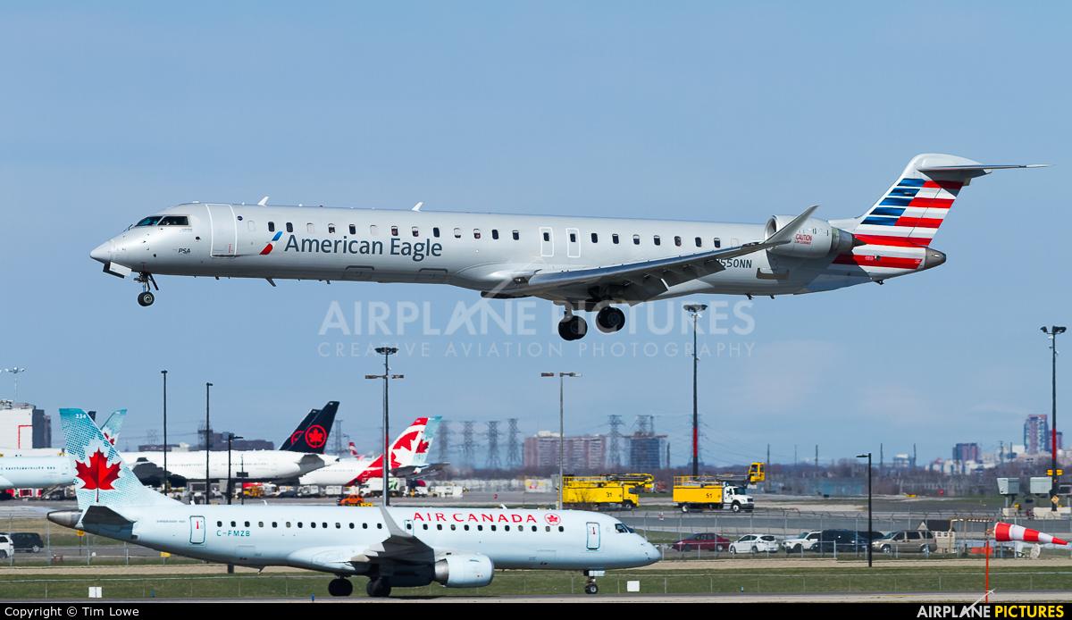 American Eagle N550NN aircraft at Toronto - Pearson Intl, ON