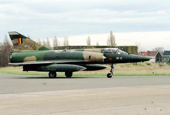 BR-12 - Belgium - Air Force Dassault Mirage V BR