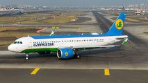 UK32021 - Uzbekistan Airways Airbus A320 NEO aircraft