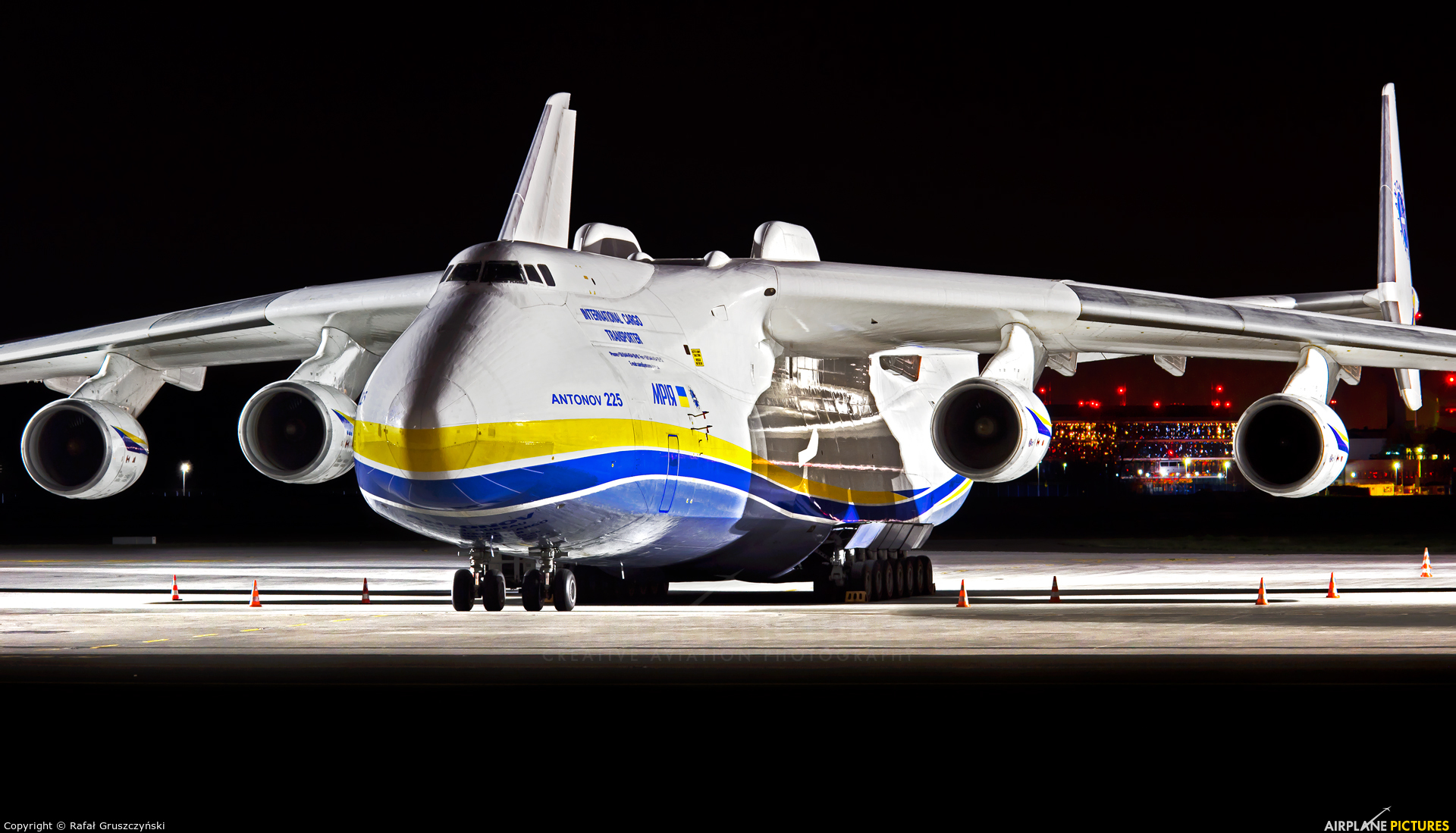 Antonov Airlines /  Design Bureau UR-82060 aircraft at Warsaw - Frederic Chopin