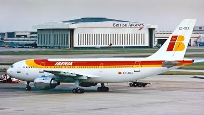 EC-DLE - Iberia Airbus A300
