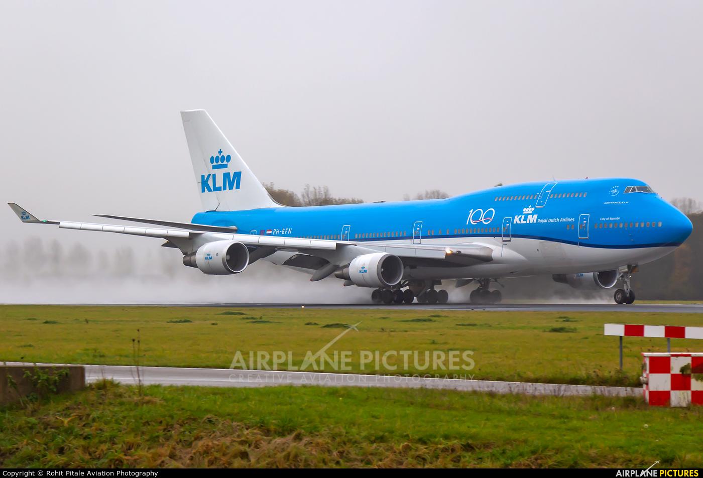 KLM PH-BFN aircraft at Amsterdam - Schiphol