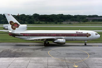 HS-TMB - Thai Airways McDonnell Douglas DC-10-30