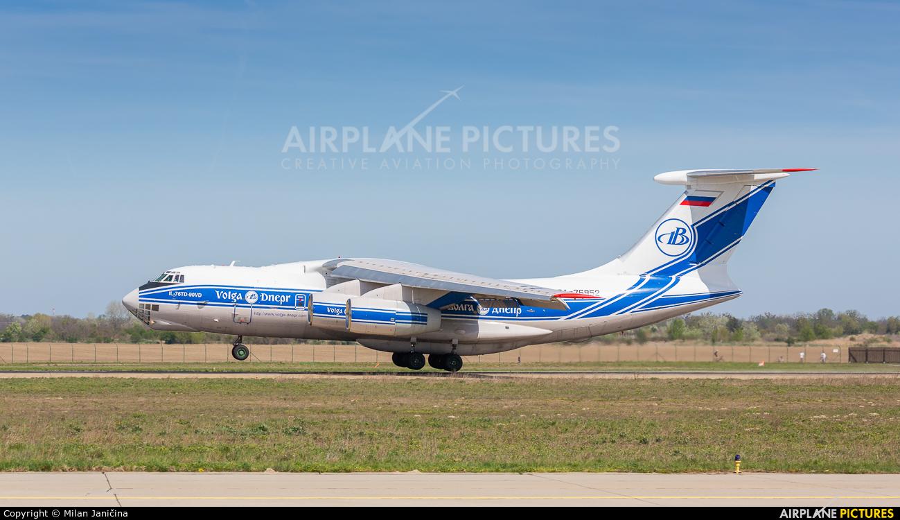 Volga Dnepr Airlines RA-76952 aircraft at Bratislava -M. R. Štefánik