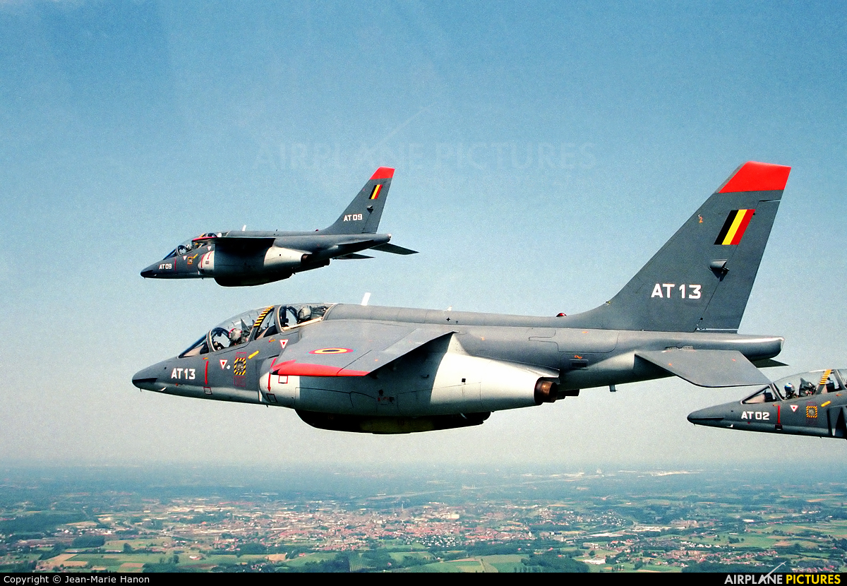 Belgium - Air Force AT13 aircraft at In Flight - Belgium