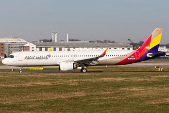 D-AVXR - Asiana Airlines Airbus A321 NEO