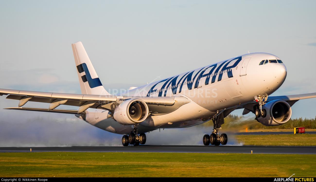 Finnair OH-LTT aircraft at Helsinki - Vantaa