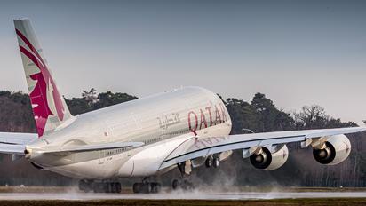 A7-API - Qatar Airways Airbus A380