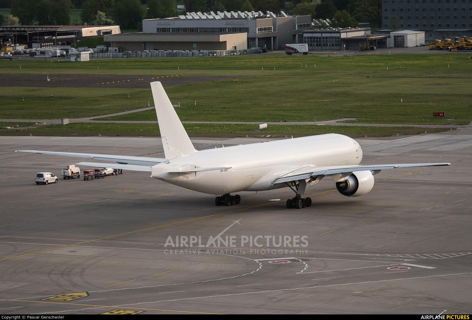 Etihad Cargo A6-DDF aircraft at Zurich