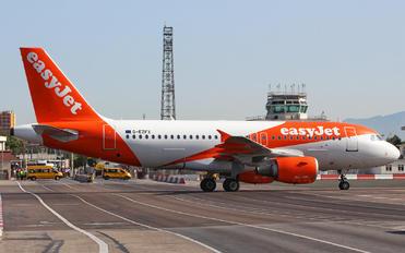 G-EZFX - easyJet Airbus A319